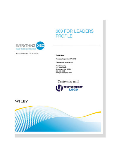 Everything DiSC® 363 for Leaders&#153 (online)