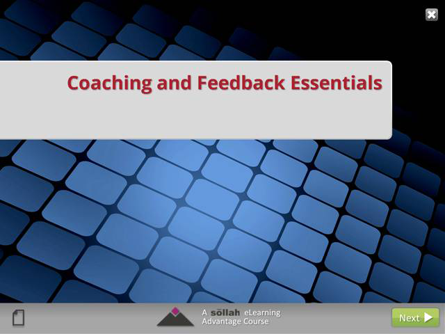 Coaching and Feedback Essentials (eCourse)