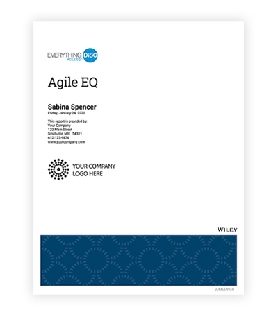 Everything DiSC® Agile EQ™ Profile
