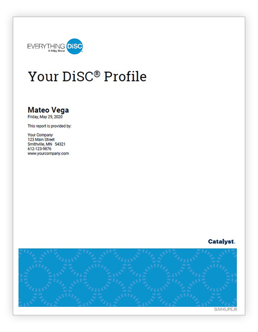 Everything DiSC Workplace® on Catalyst™