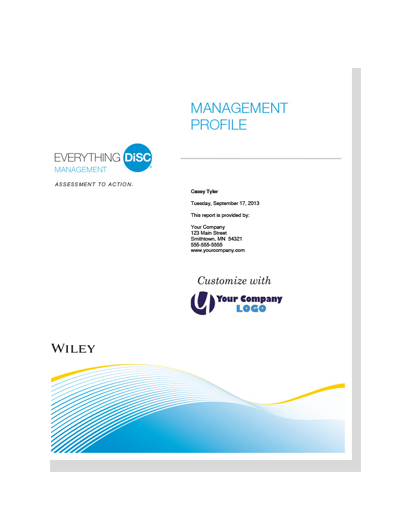 Everything DiSC® Management Profile (online)