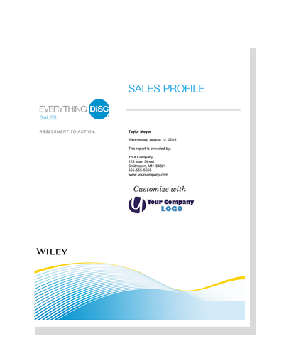 Everything DiSC® Sales Profile (online)