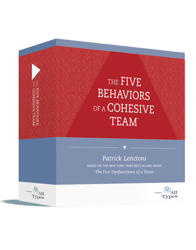 The Five Behaviors of a Cohesive Team™ Facilitation Kit (All Types™)