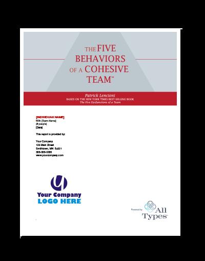 The Five Behaviors™ Assessment (All Types™)