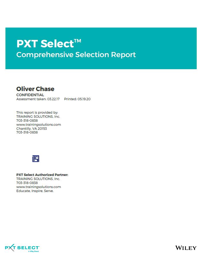PXT Select™