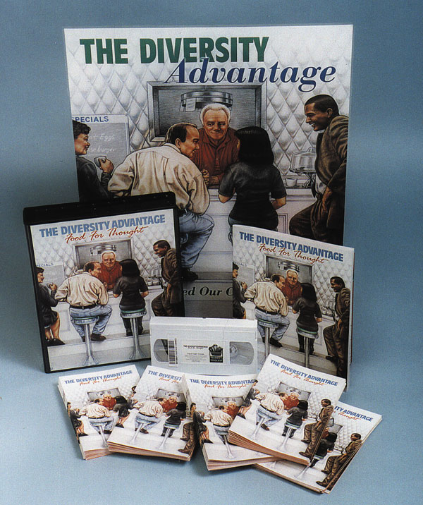 The Diversity Advantage: Food for Thought (DVD)
