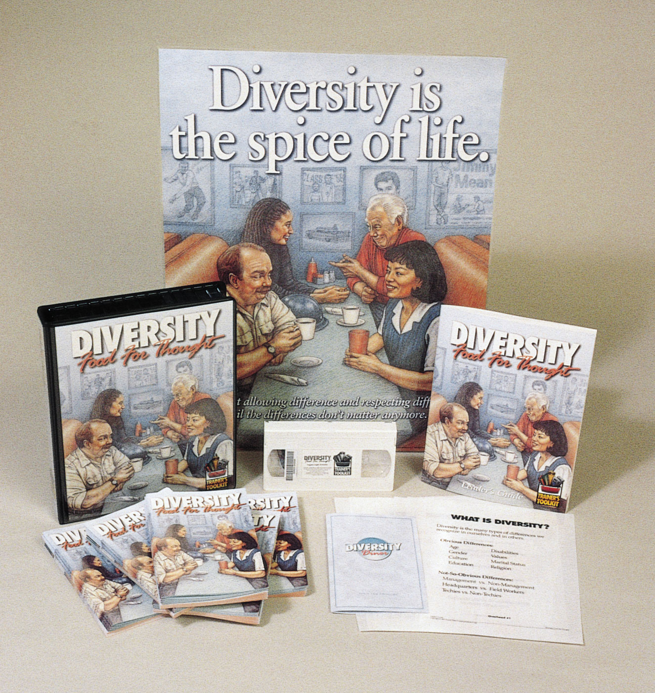 Diversity: Food for Thought (DVD)