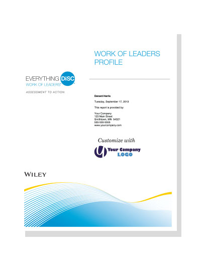 Everything DiSC® Work of Leaders&#153 (online)