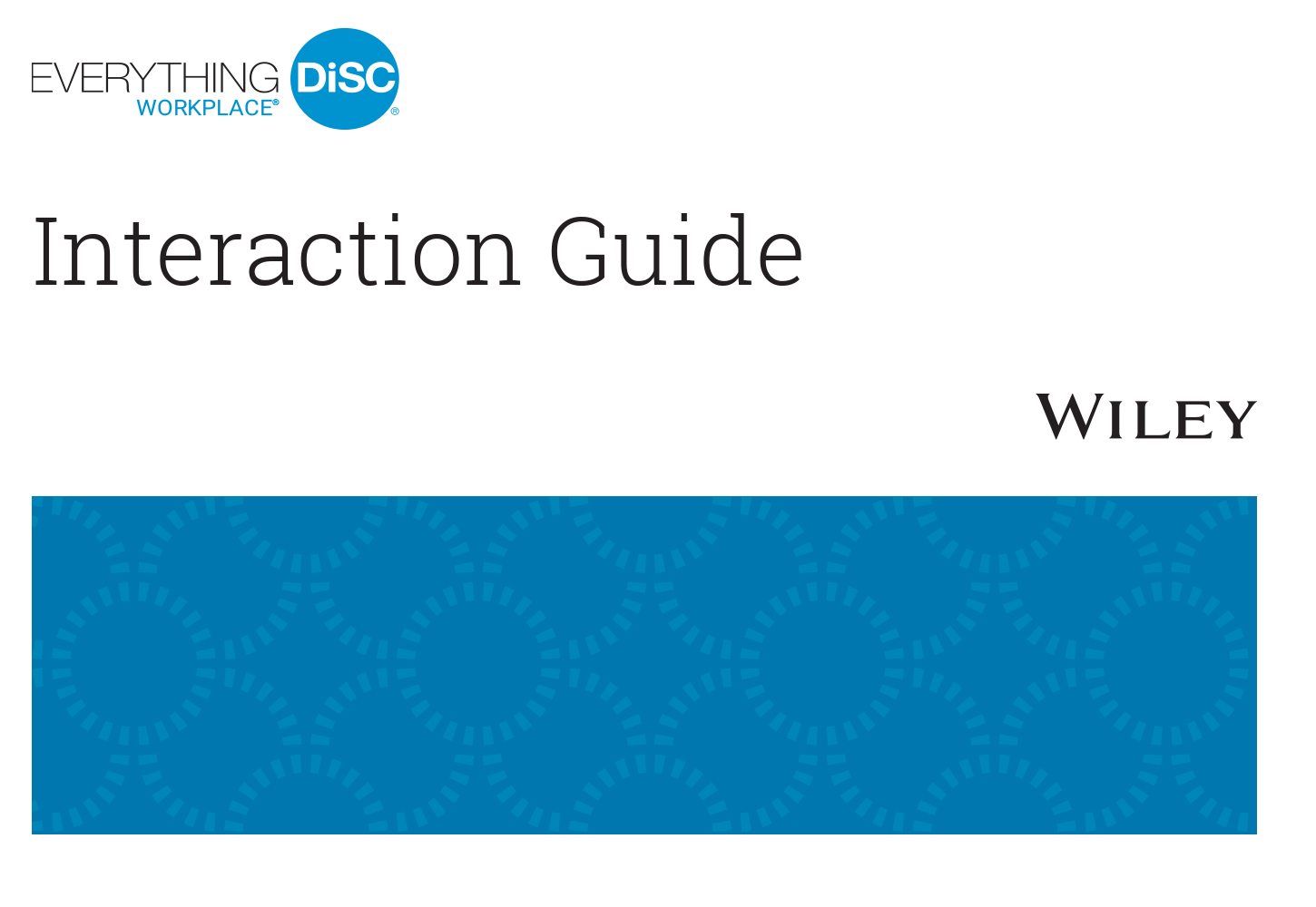 Everything DiSC® Workplace&#153  Interaction Guides (set of 25)