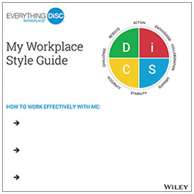 The Everything DiSC Workplace Profile