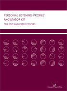 Personal Listening Profile Facilitator's Kit Photo